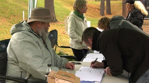 RISE Charlottesville collecting petition signatures