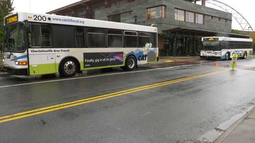 Charlottesville Area Transit Buses