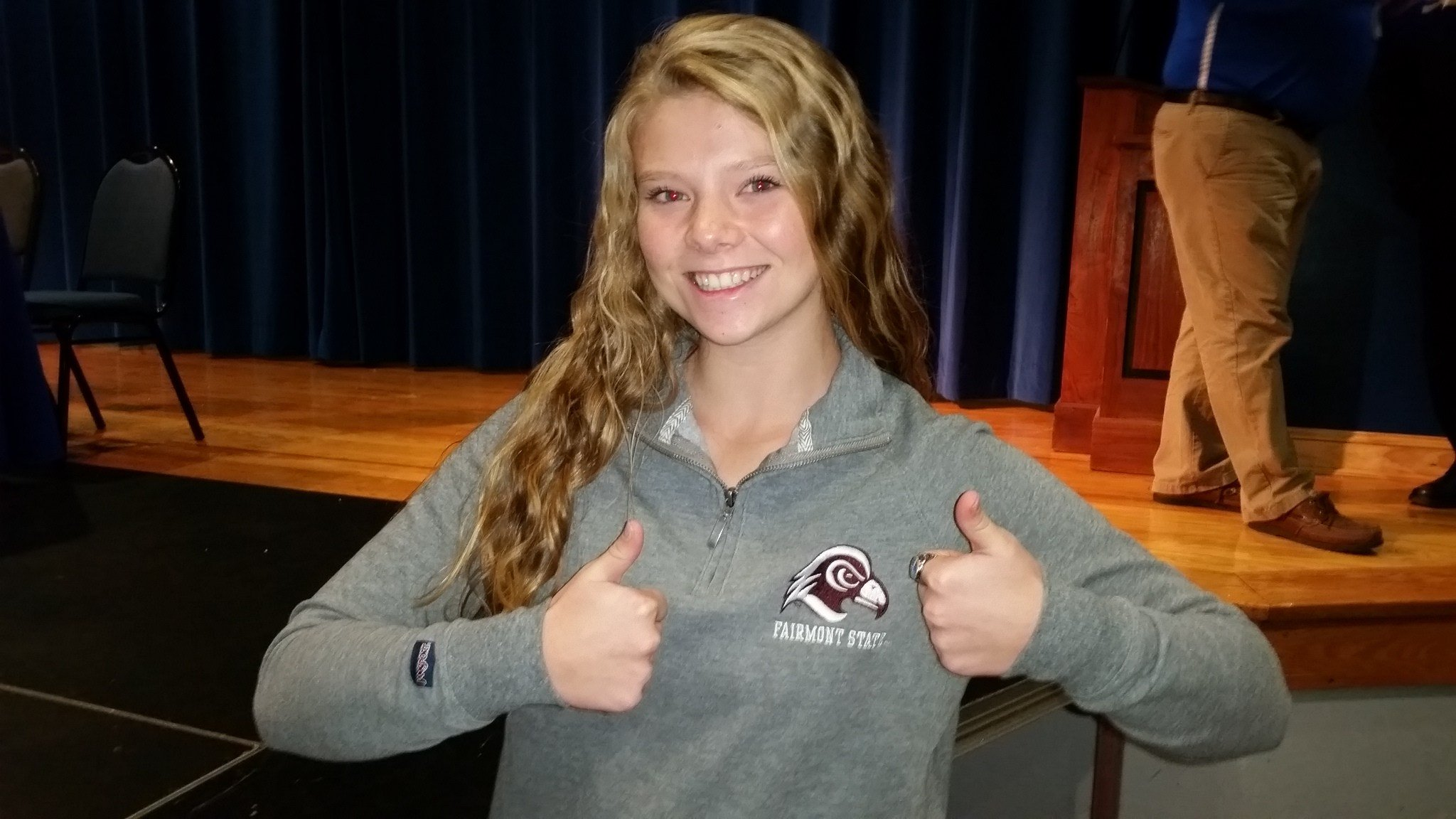 Meadow Anderson Signs with Division II school Fairmont State