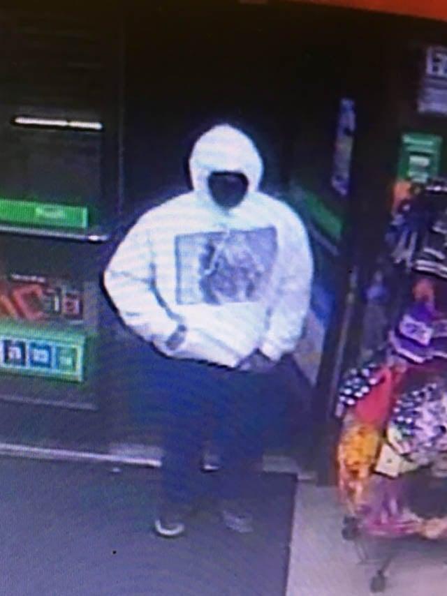 Culpeper 7-Eleven robbery surveillance photo.