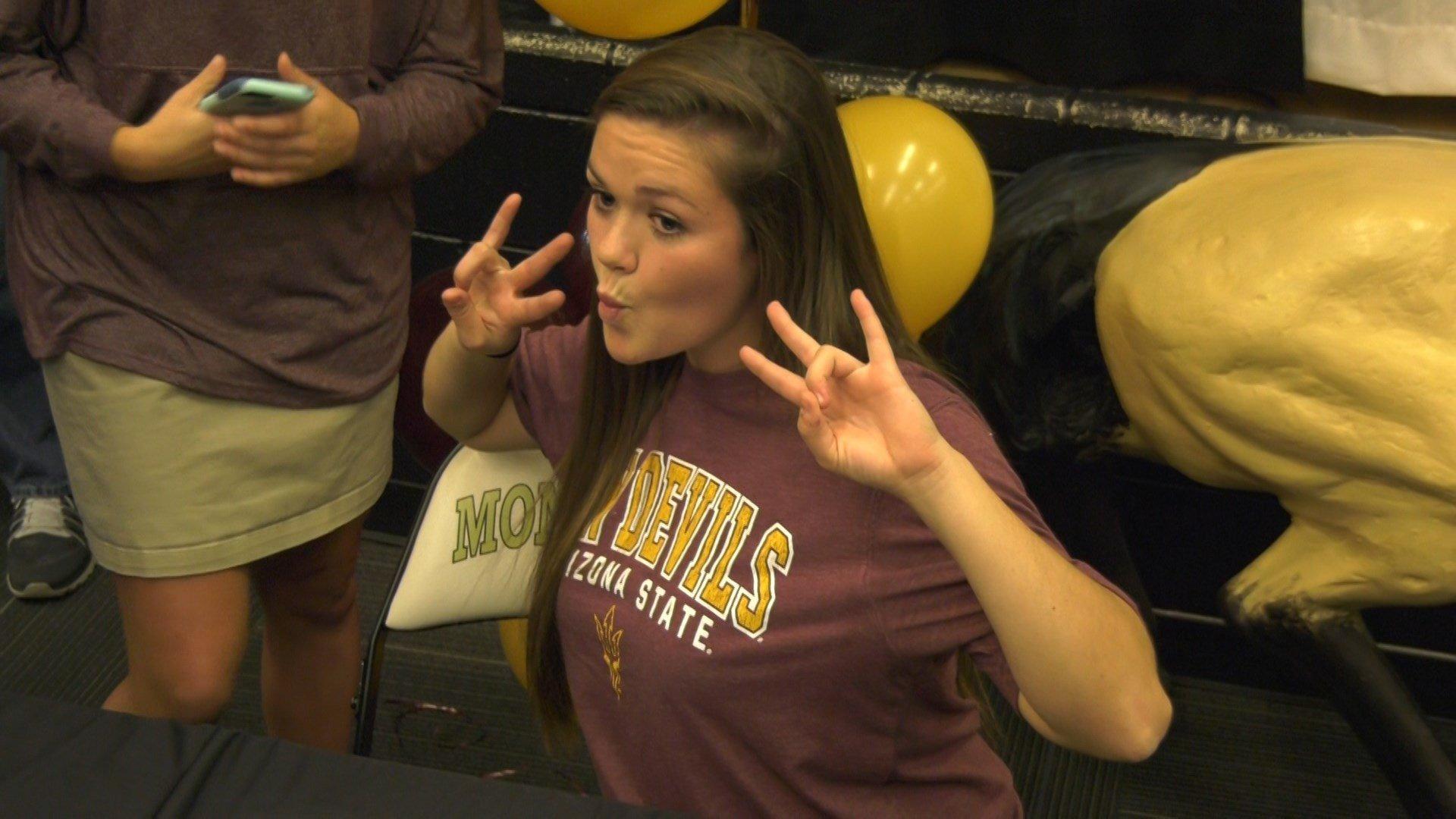 Paige McGlothlin signed with Arizona State lacrosse