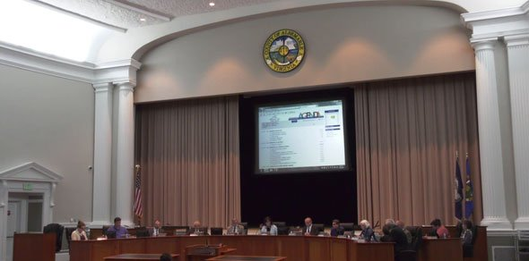 Albemarle County School Board meeting