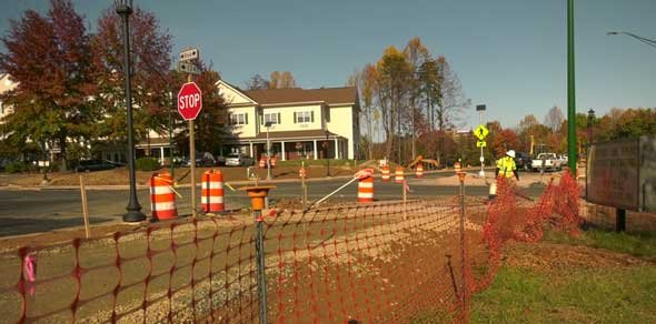 Hillsdale Drive project in Albemarle County