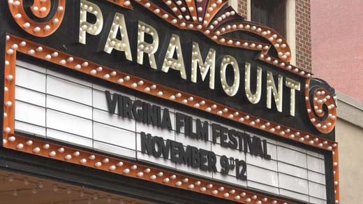 The Virginia Film Festival was held at the Paramount Theatre