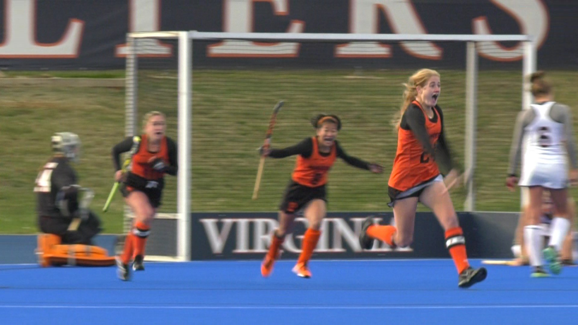 Ryan McCarthy scored the game-winner in double overtime for Princeton
