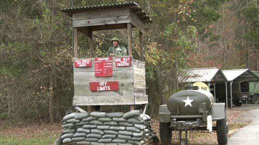 Vietnam War reenactment