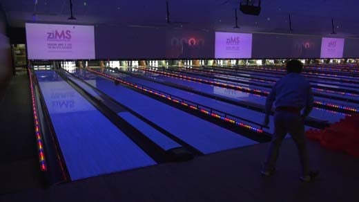 The ziMS Foundation's bowling fundraiser