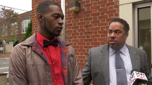 Corey Long (LEFT) and attorney Jeroyd Greene (RIGHT)