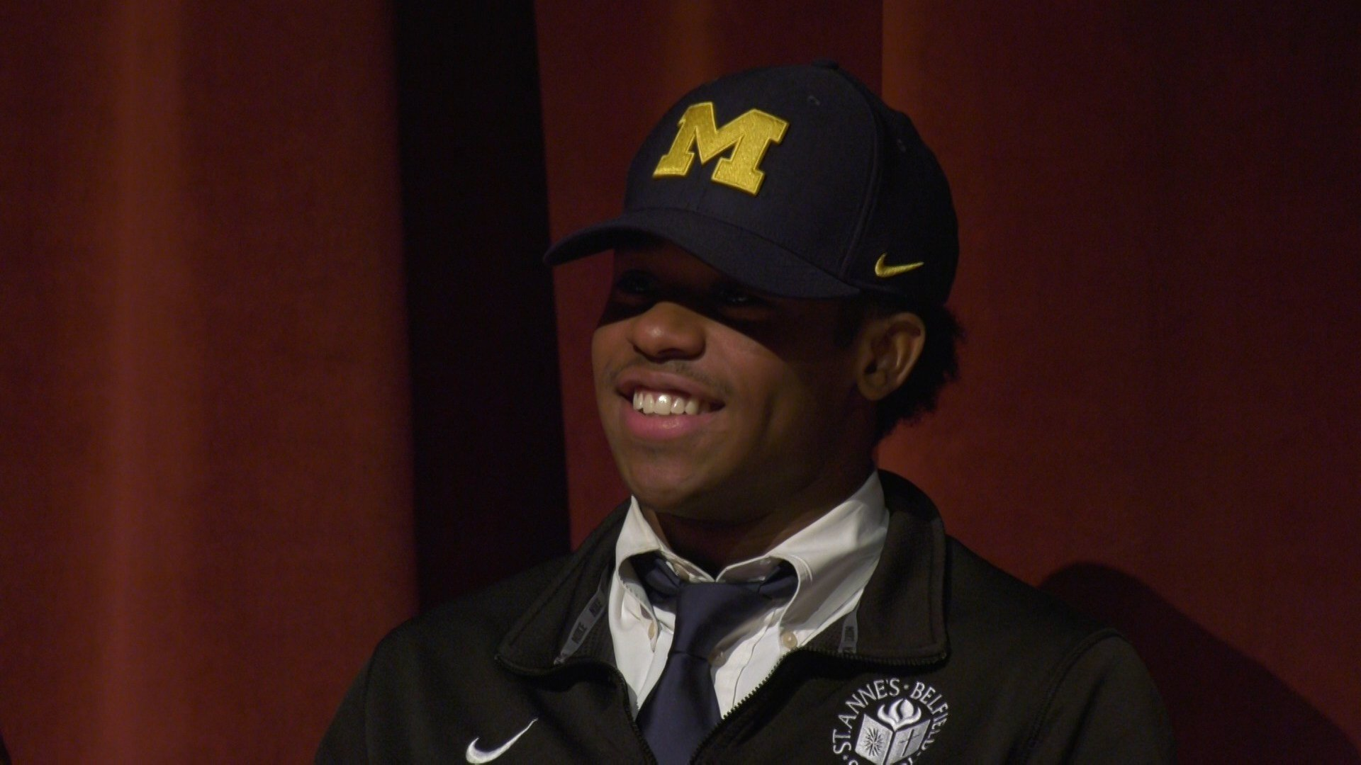 Javon Johnson signed to play lacrosse at the University of Michigan