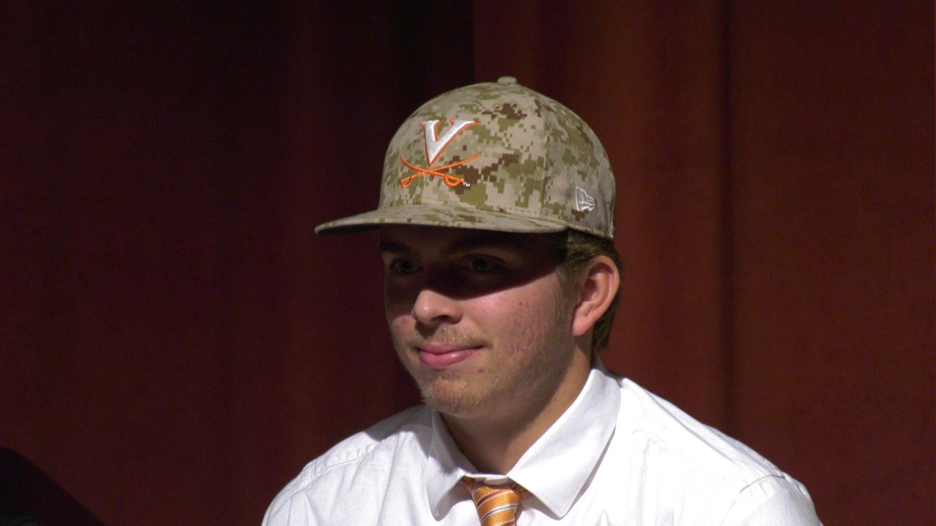 Nic Kent signed to play baseball at the University of Virginia