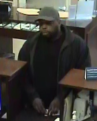 Union Bank & Trust robbery suspect (Photo courtesy ACPD)