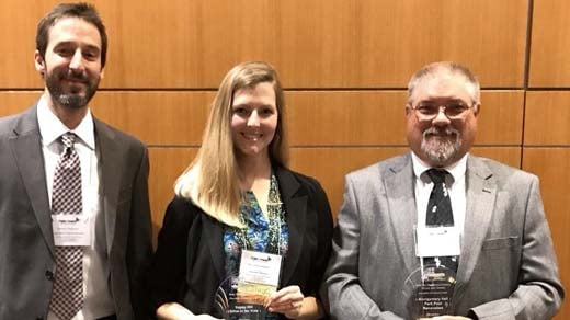 Staunton Parks & Rec won three awards