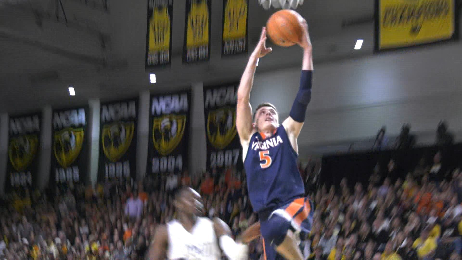 Sophomore Kyle Guy scored a career-high 29 points in UVa's 76-67 win