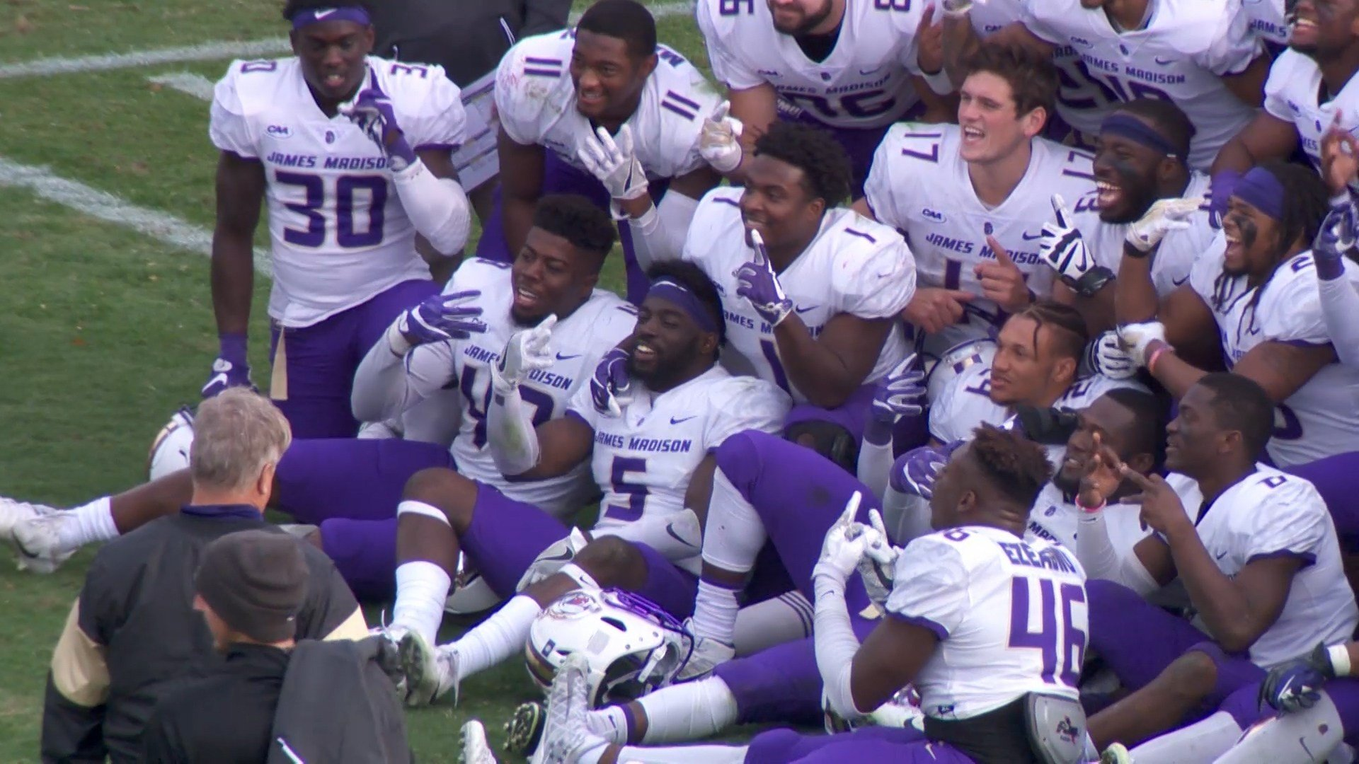 James Madison earns No. 1 seed in FCS playoffs