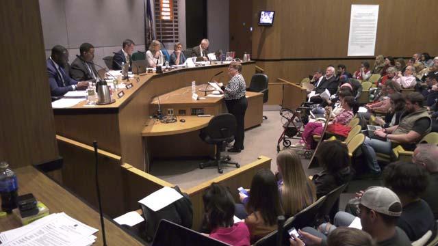 City Council at its meeting on November 20