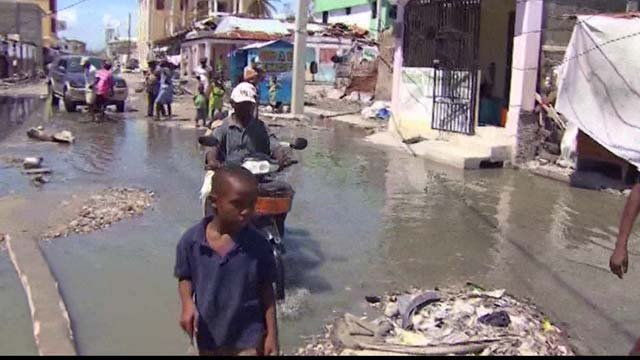 Haiti was hit with an earthquake in 2010