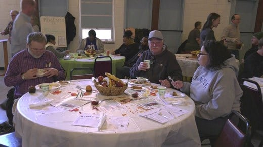 Thanksgiving lunch at Charlottesville's Salvation Army