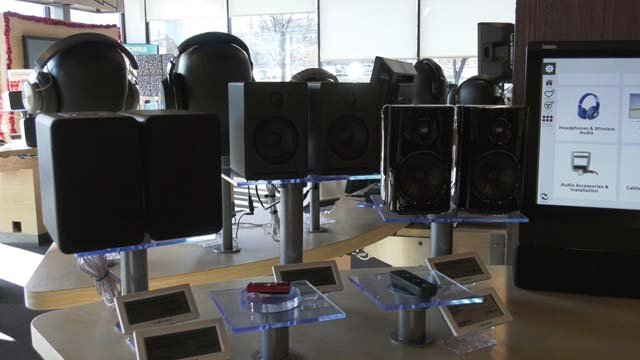 Expensive electronic items are popular on Cyber Monday