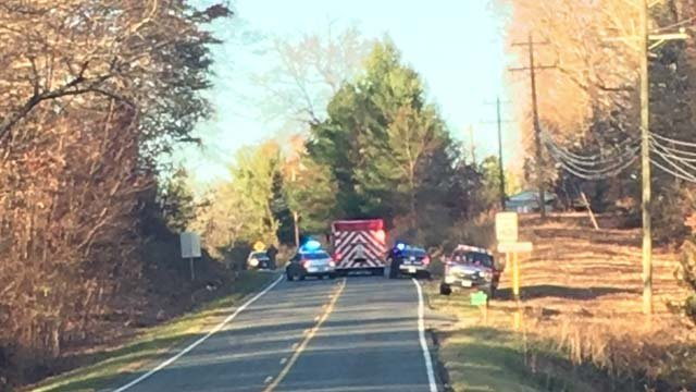 Scene of a fatal crash on Route 340 in Augusta County (FILE IMAGE)