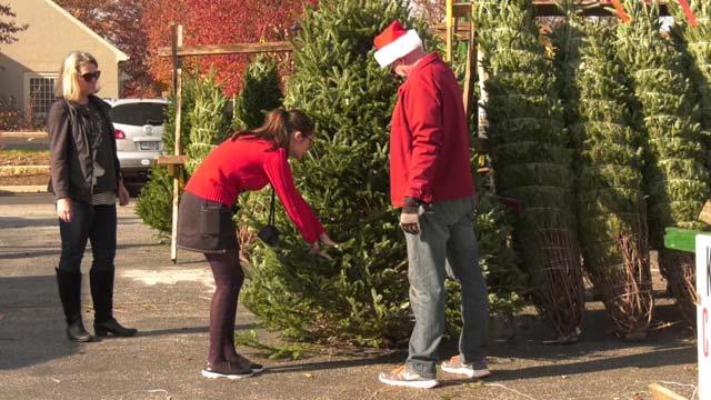 Kiwanis will be selling trees until December 21