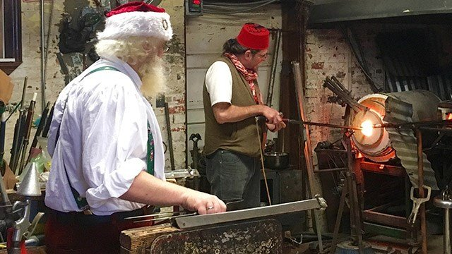 2016 Glass Blowing exhibition