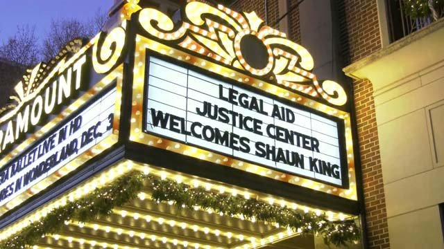 Shaun King is speaking in Charlottesville on Nov. 27