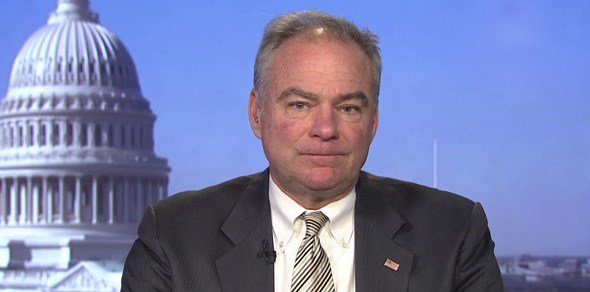 Kaine speaking on tax reform