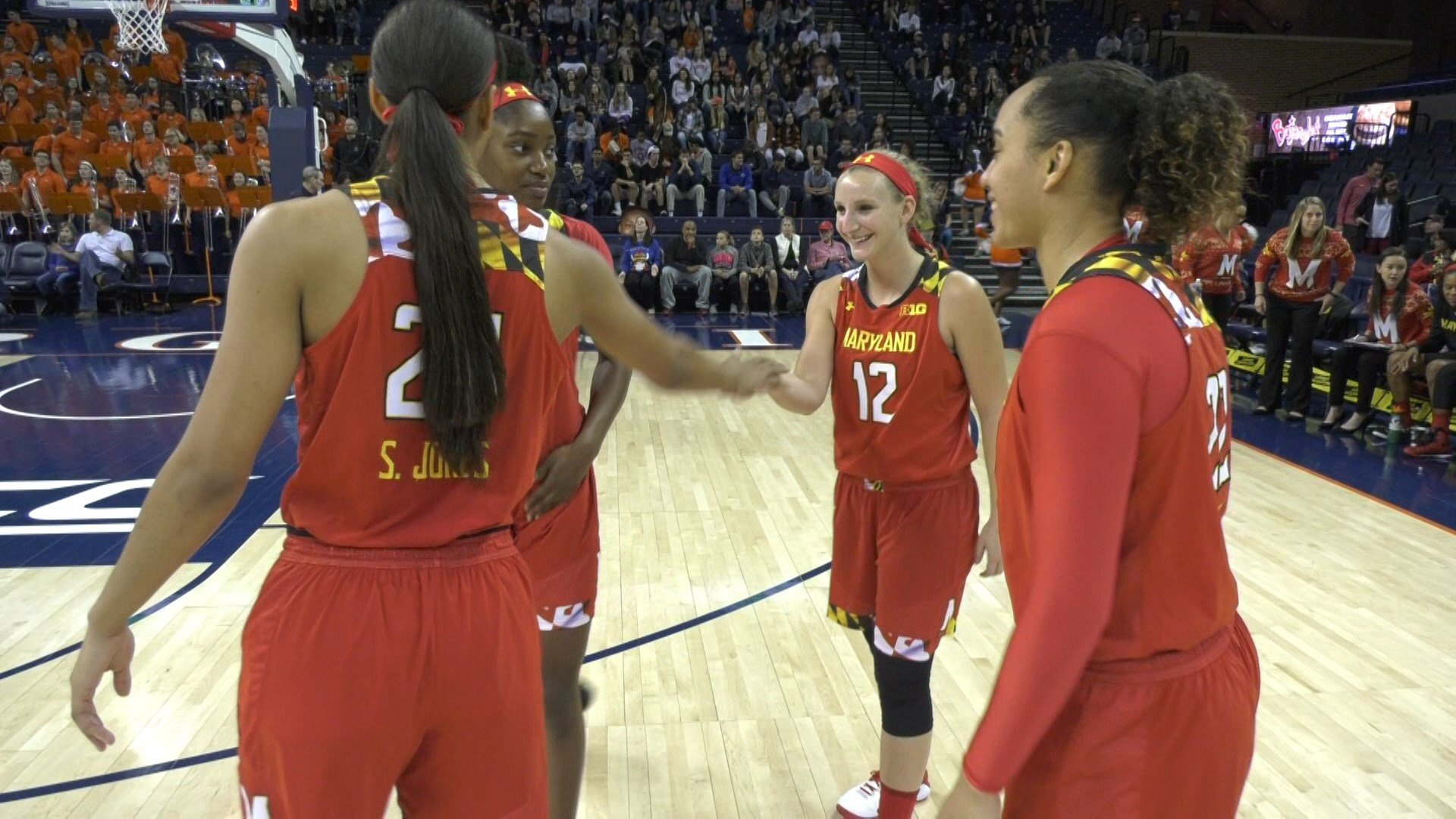Maryland and Virginia were playing for the first time since the Terps left the ACC for the Big Ten