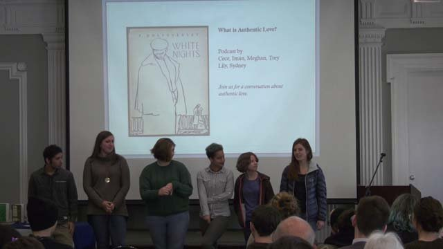 Students presented their findings at JMRL on Dec. 1