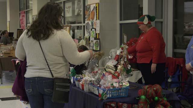 Monticello High School held a craft fair on Dec. 2