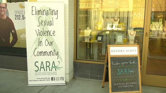 Some stores in Stonefield donated to SARA on Dec. 3