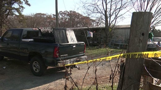 Farm property under investigation by the Louisa County Sheriff's Office [FILE IMAGE]