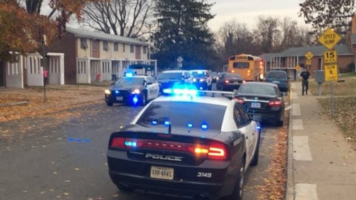 Charlottesville police investigating a shooting along Hardy Drive.