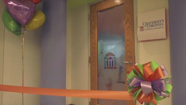 UVA Children's Hospital opened its new room on Dec. 5