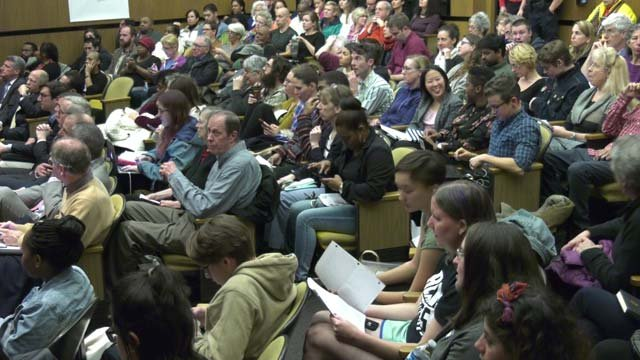 The public got the chance to voice grievances at the meeting