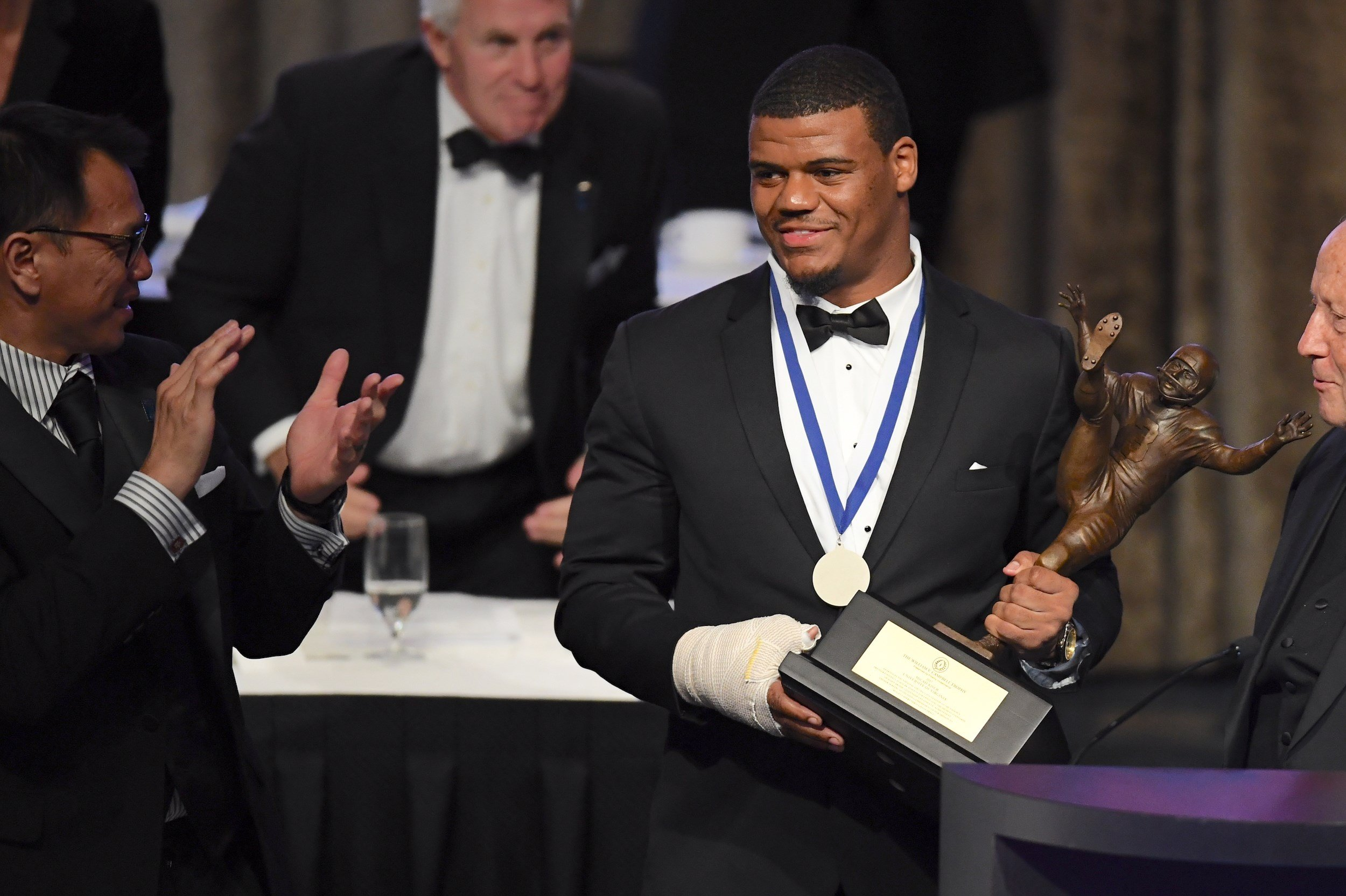 "Micah Kiser is the second Cavalier to win the ""Academic Heisman"" (Ben Solomon)"