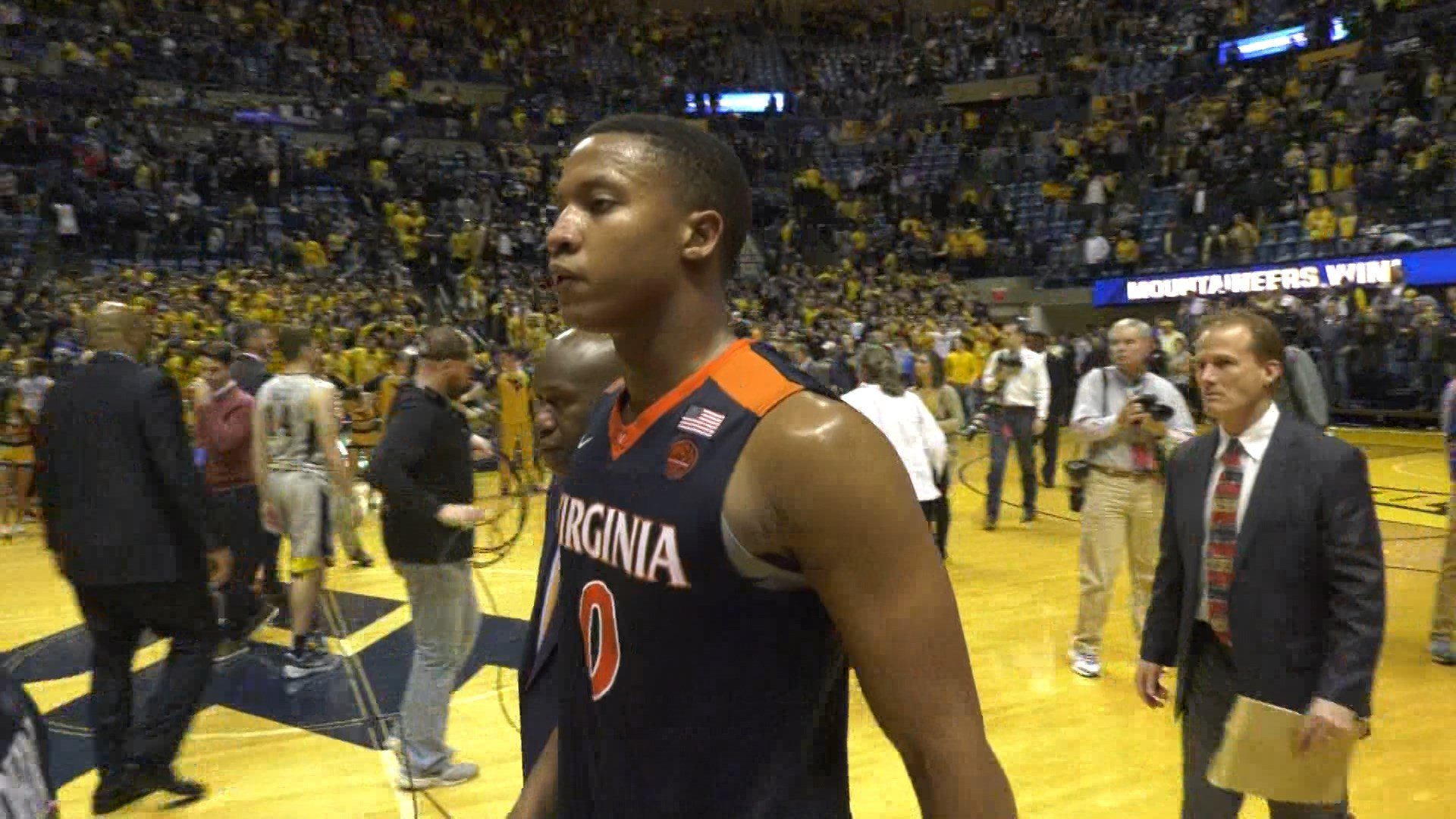 Devon Hall tied a career-high with 19 points