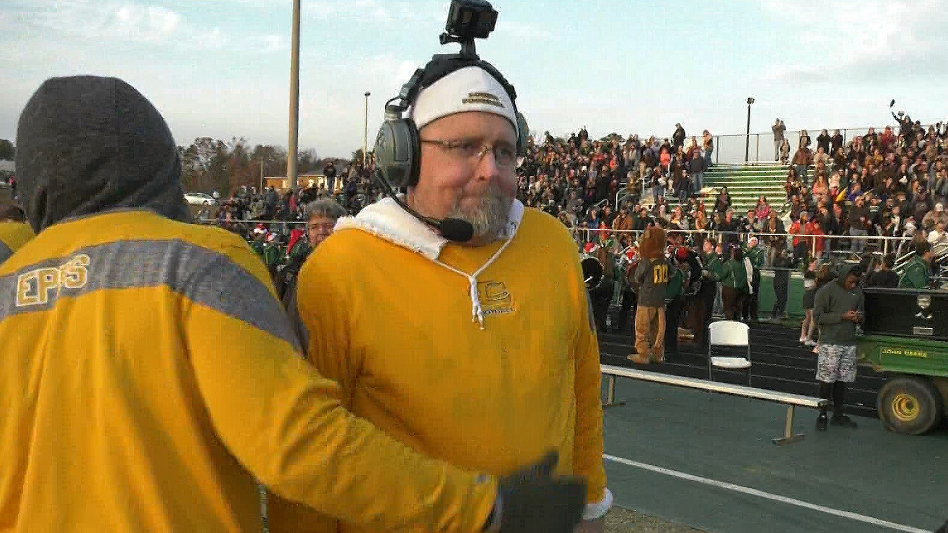 Mark Fischer will coach his last football game this Saturday in the state championship