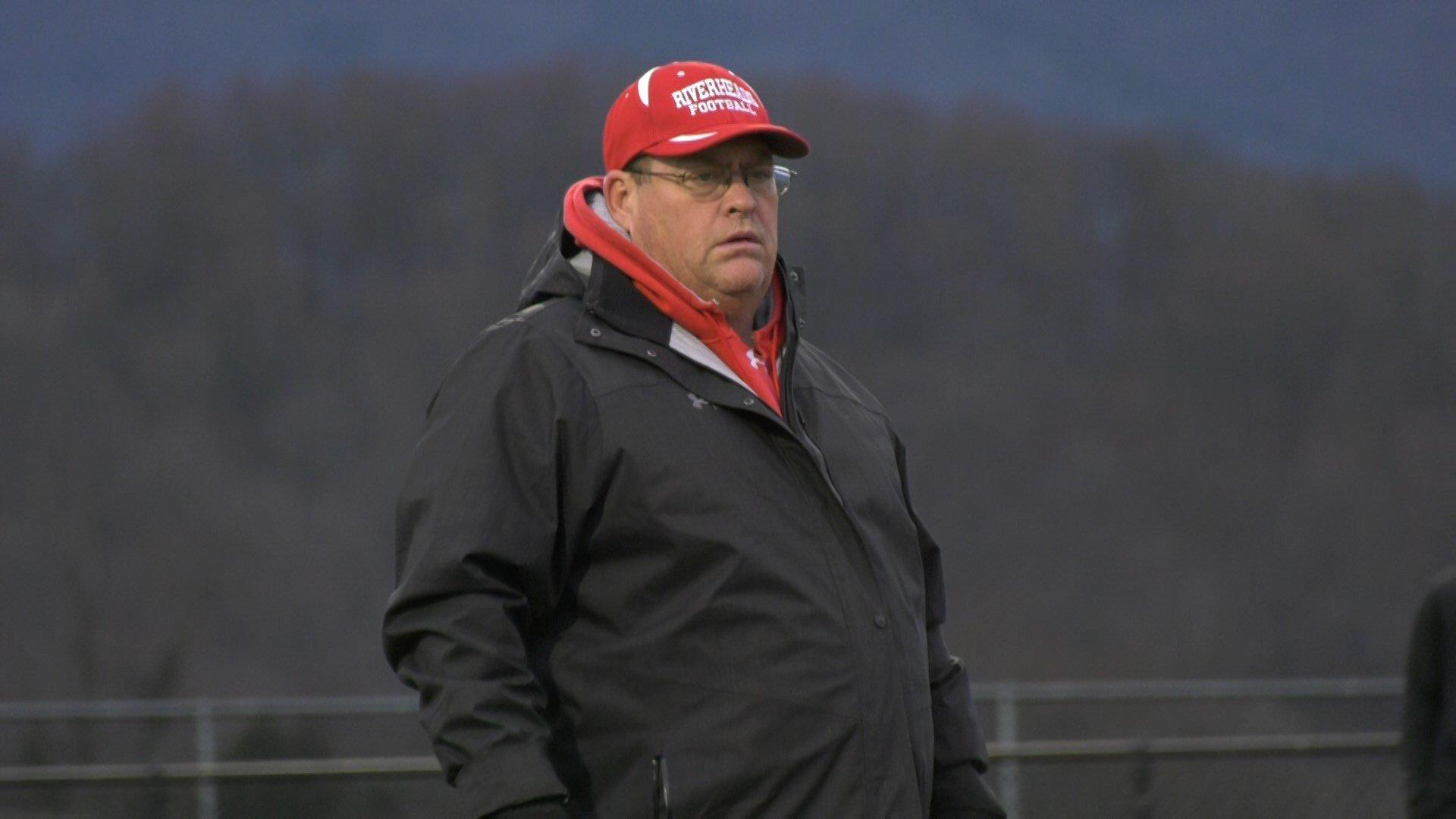Gladiators head coach Robert Casto