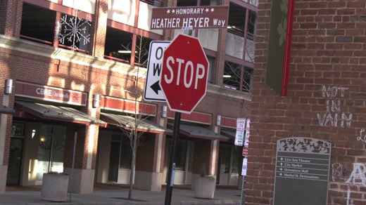 Charlottesville Street Where Heather Heyer Was Killed Is Renamed in Her Honor