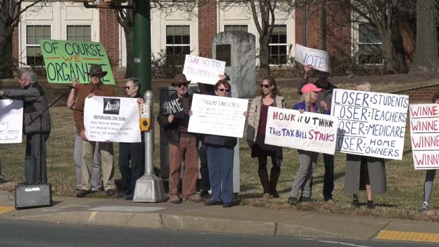 Members of Indivisible Charlottesville