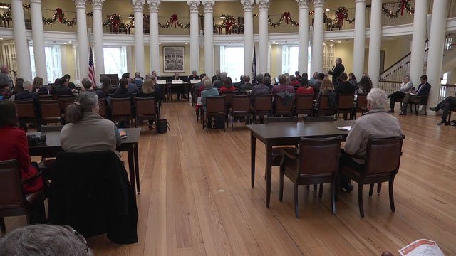 forum at UVA hosted by Sullivan and state lawmakers
