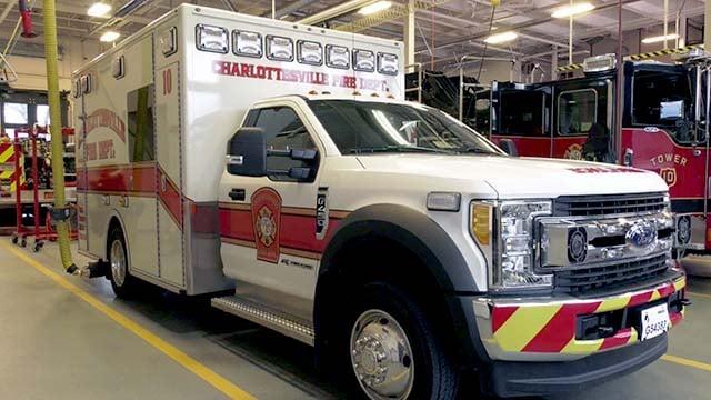 Charlottesville Fire Department's Ambulance