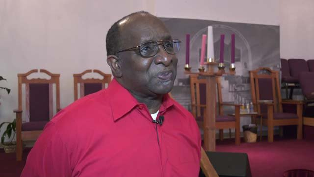 Pastor Alvin Edwards