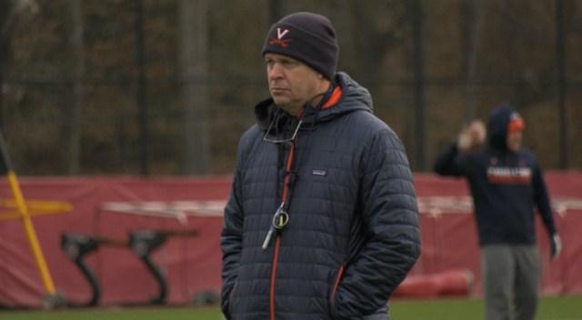 Head coach Bronco Mendenhall