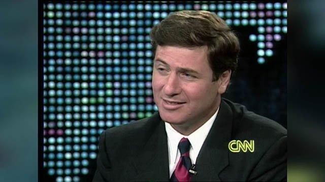Former Governor George Allen in 1990s.  Photo courtesy of CNN.