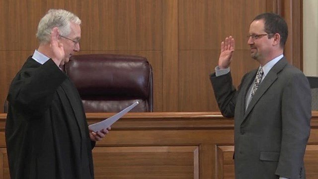 Joe Platania Sworn In as Charlottesville's New Commonwealth's Attorney