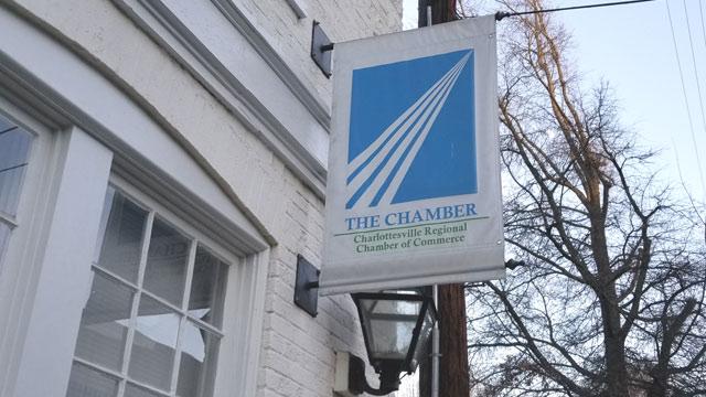 Charlottesville Regional Chamber of Commerce along Market Street