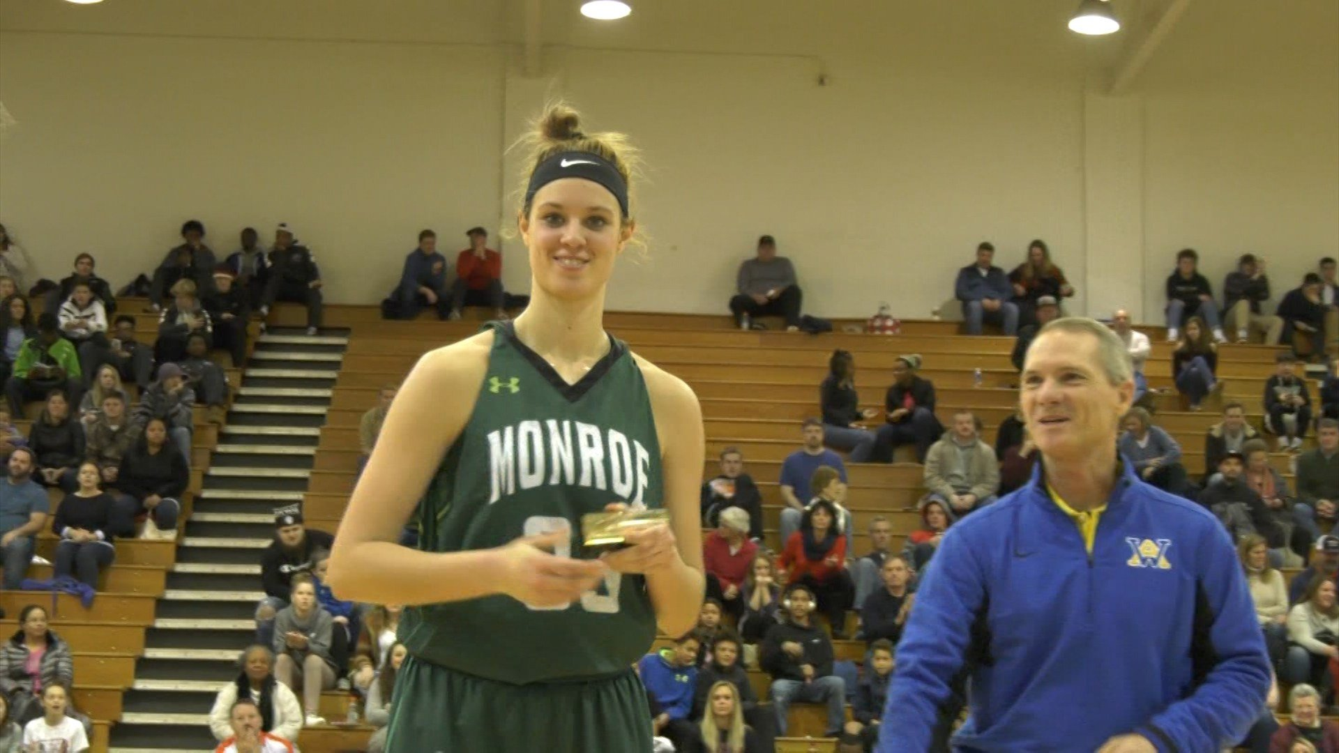Monroe's Sam Brunelle is named Holiday Classic MVP