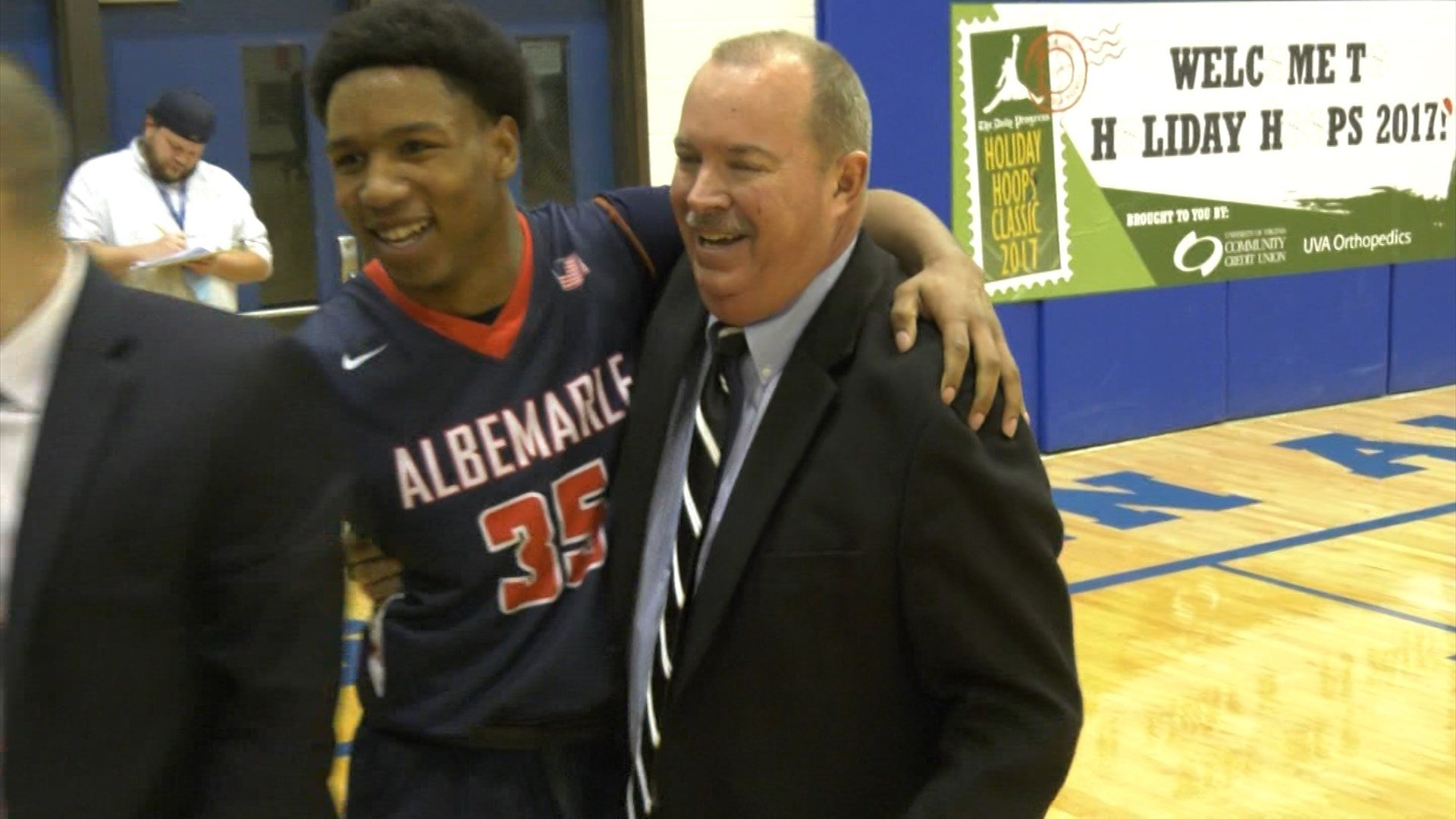 Albemarle wins the Holiday Classic Championship